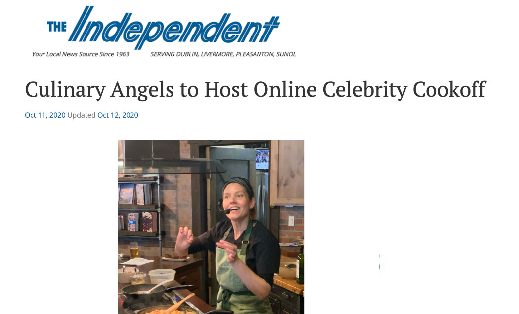 Culinary Angels to Host Online Celebrity Cookoff