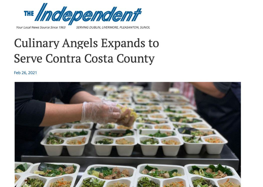 Culinary Angels Expands to Serve Contra Costa County
