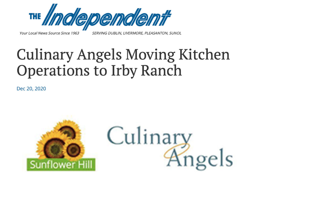 Culinary Angels Moving Kitchen Operations to Irby Ranch